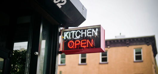 otwarta kuchnia